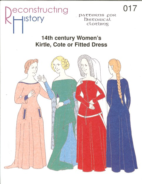 Image for RH017: 14TH CENTURY WOMEN'S KIRTLE, COTE OR FITTED DRESS