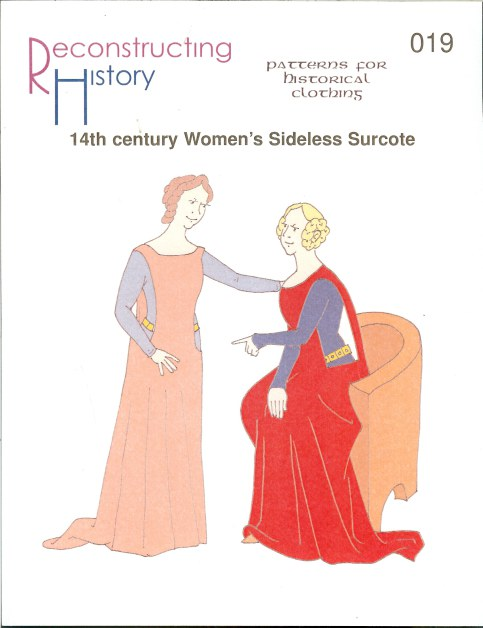 Image for RH019: 14TH CENTURY WOMEN'S SIDELESS SURCOTE