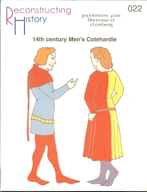 Image for RH022: 14TH CENTURY MEN'S COTEHARDIE