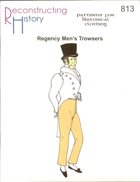 Image for RH813: REGENCY MEN'S TROWSERS (1790S - 1810S)