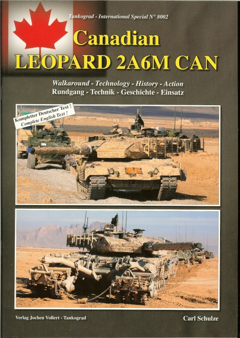 Image for CANADIAN LEOPARD 2A6M CAN: WALKAROUND - TECHNOLOGY - HISTORY - ACTION