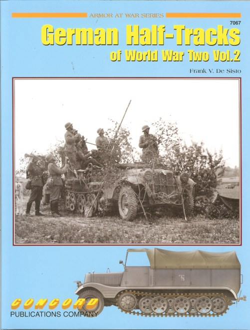 Image for GERMAN HALF-TRACKS OF WORLD WAR TWO: VOLUME 2