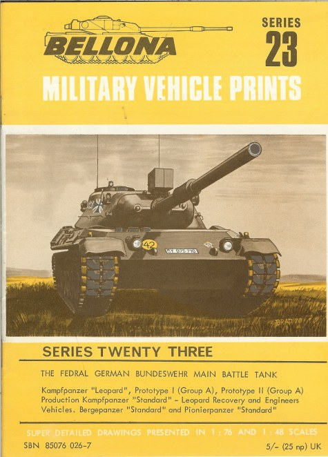 Image for BELLONA MILITARY VEHICLE PRINTS: SERIES TWENTY THREE