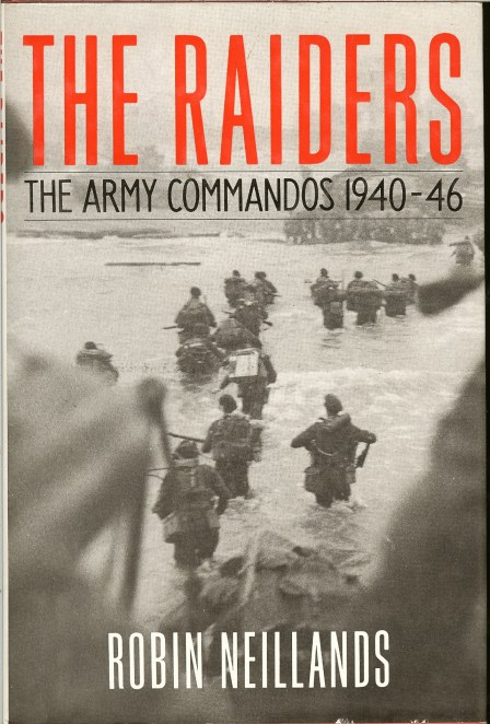 Image for THE RAIDERS: THE ARMY COMMANDOS 1940-46