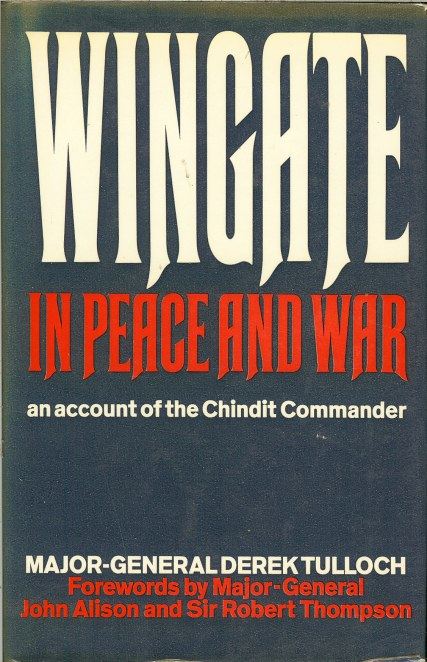 Image for WINGATE IN PEACE AND WAR