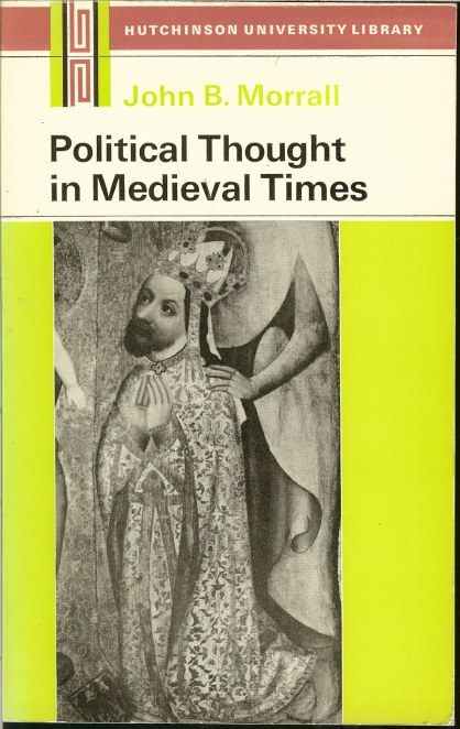 Image for POLITICAL THOUGHT IN MEDIEVAL TIMES (THIRD EDITION)