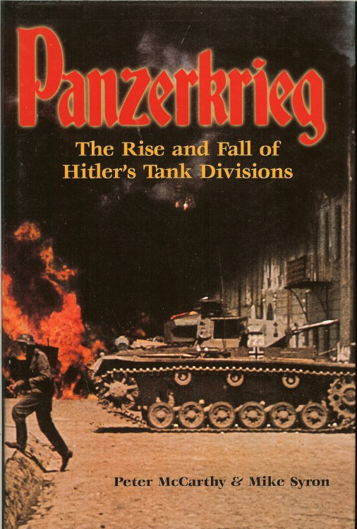 Image for PANZERKRIEG: THE RISE AND FALL OF HITLER'S TANK DIVISIONS