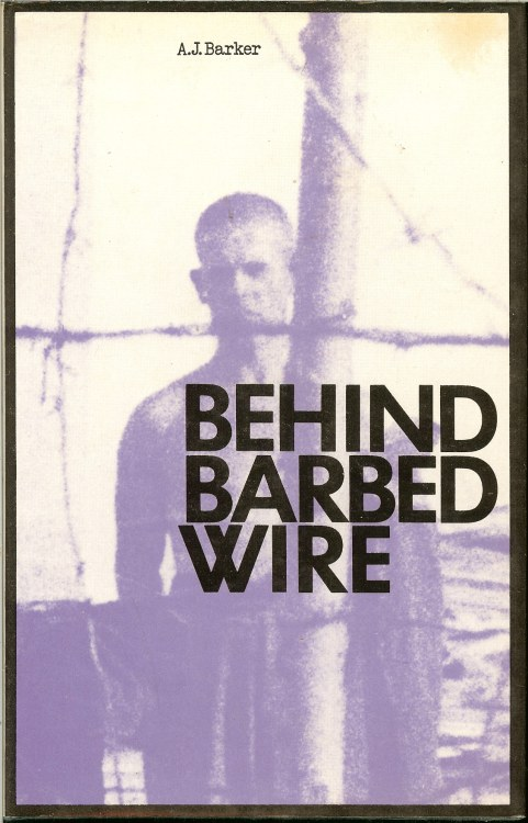 Image for BEHIND BARBED WIRE