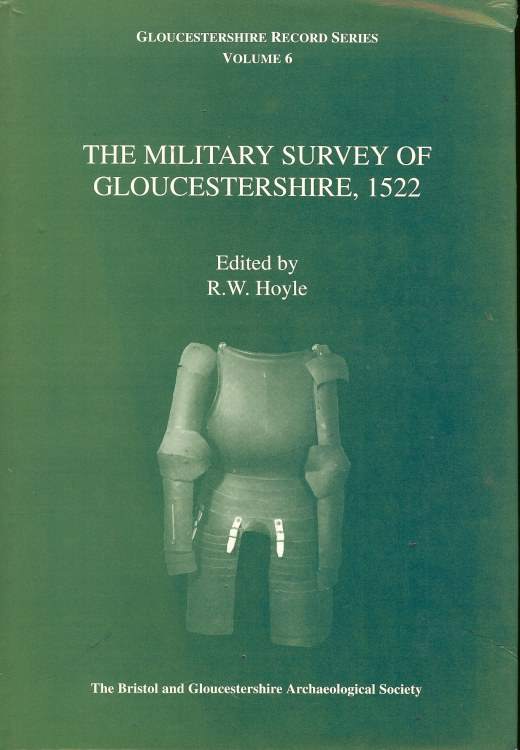 Image for THE MILITARY SURVEY OF GLOUCESTERSHIRE 1522