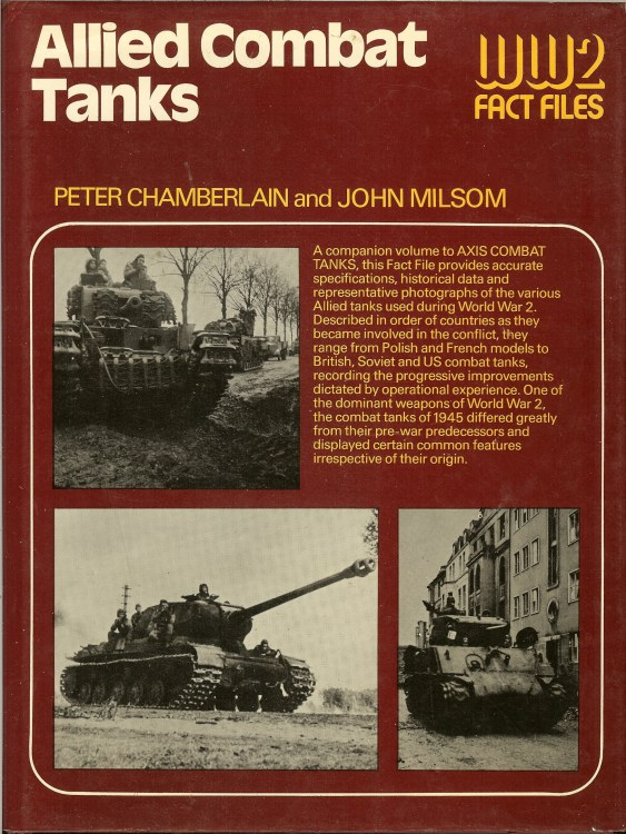Image for WW2 FACT FILES: ALLIED COMBAT TANKS