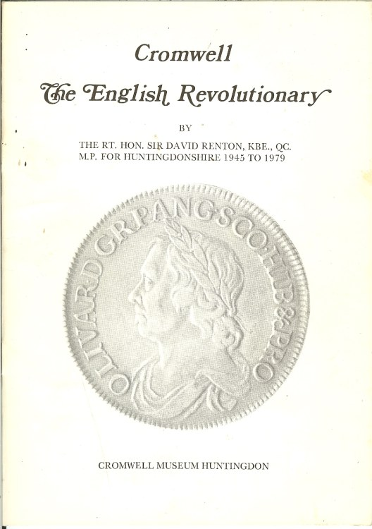 Image for CROMWELL THE ENGLISH REVOLUTIONARY