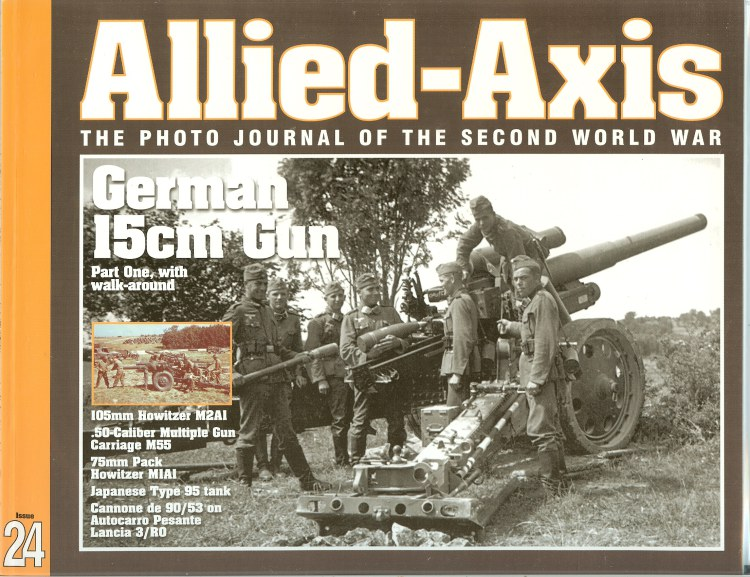 Image for ALLIED-AXIS: THE PHOTO JOURNAL OF THE SECOND WORLD WAR ISSUE 24