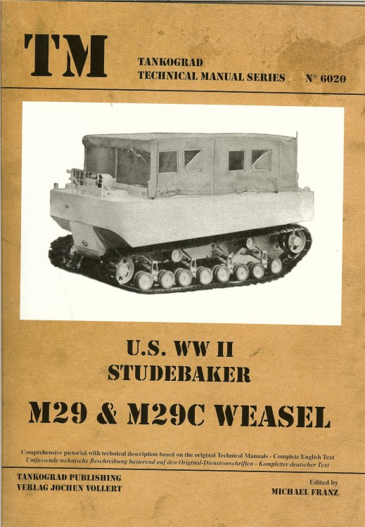 Image for US WWII STUDEBAKER M29 & M29C WEASEL