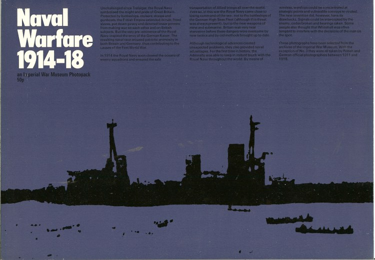Image for NAVAL WARFARE 1914-18: AN IMPERIAL WAR MUSEUM PHOTOPACK