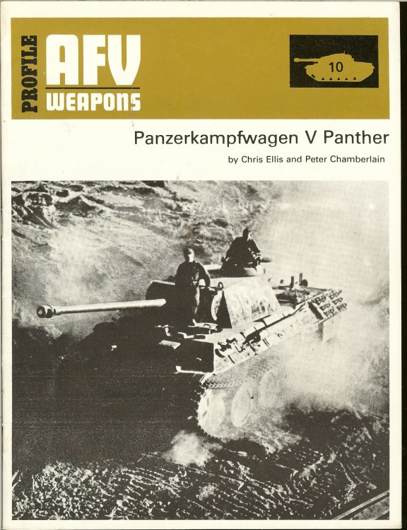 Image for PROFILE AFV 10: PANZERKAMPFWAGEN V PANTHER