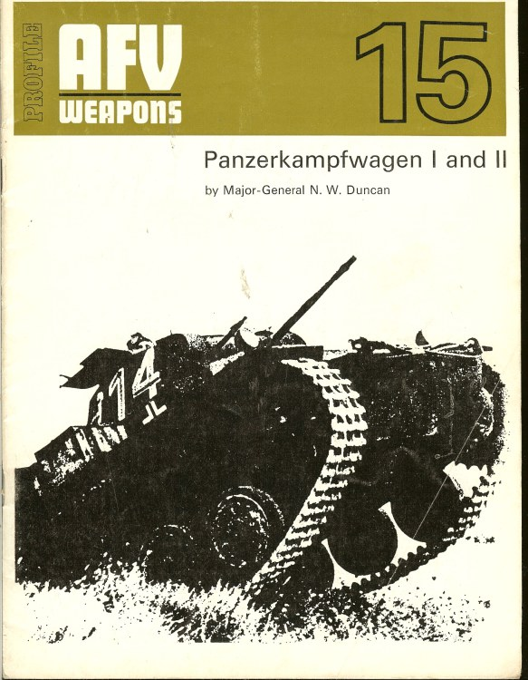 Image for PROFILE AFV 15: PANZERKAMPFWAGEN I AND II