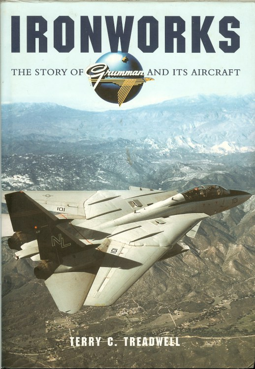 Image for IRONWORKS: THE STORY OF GRUMMAN AND ITS AIRCRAFT