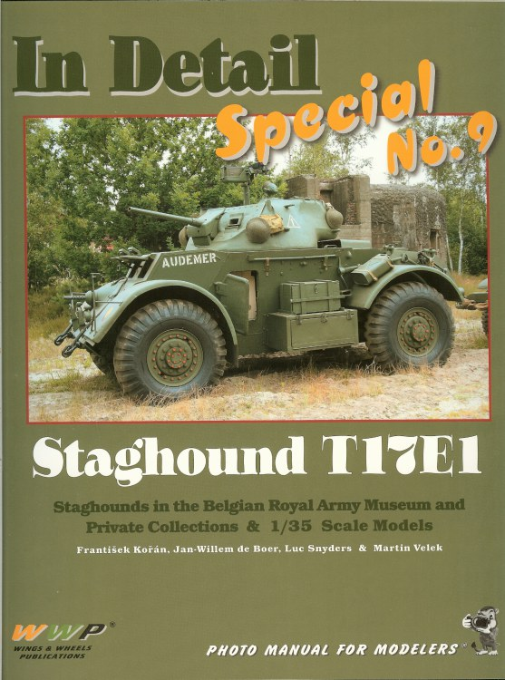 Image for IN DETAIL SPECIAL NO.9: STAGHOUND T17E1