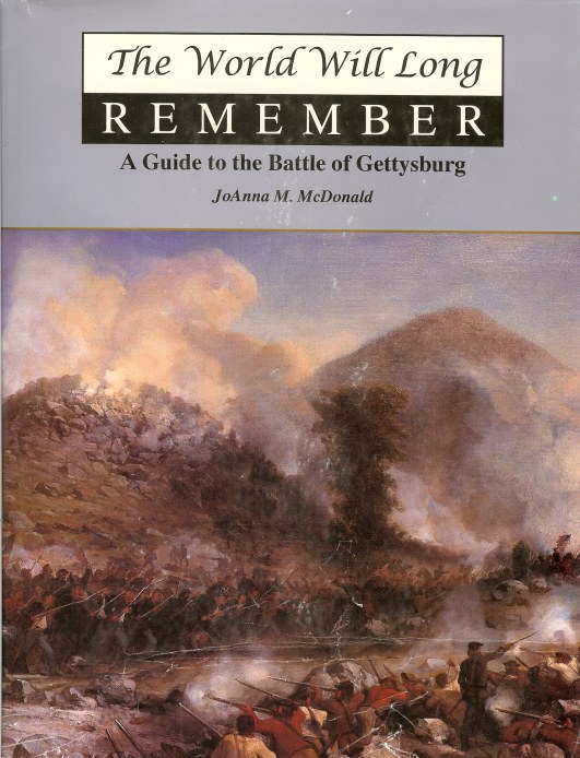 Image for THE WORLD WILL LONG REMEMBER: A GUIDE TO THE BATTLE OF GETTYSBURG