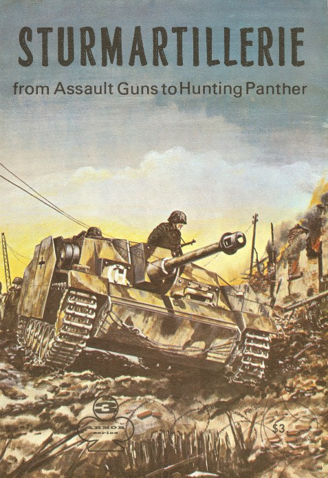 Image for STURMARTILLERIE: FROM ASSAULT GUNS TO HUNTING PANTHER