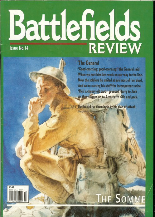 Image for BATTLEFIELDS REVIEW ISSUE NO.14