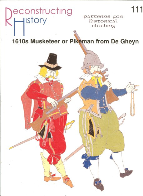 Image for RH111: 1610 MUSKETEER OR PIKEMAN FROM DE GHEYN