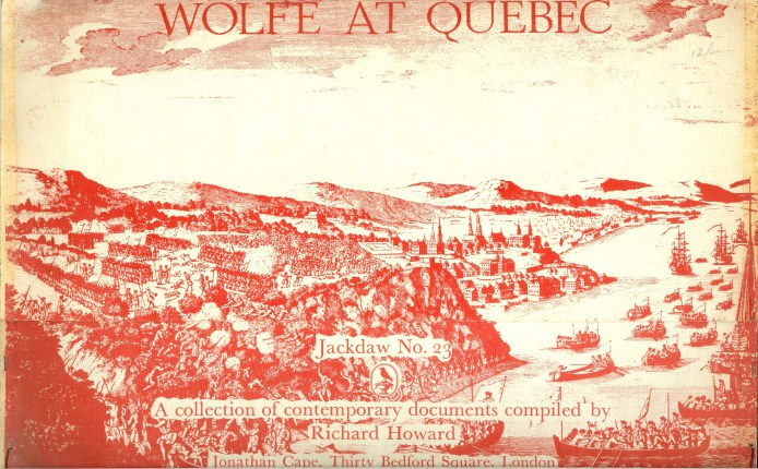 Image for JACKDAW NO.23: WOLFE AT QUEBEC