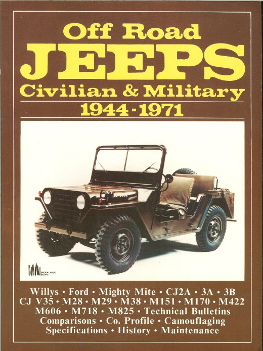 Image for OFF ROAD JEEPS: CIVILIAN & MILITARY 1944-1971