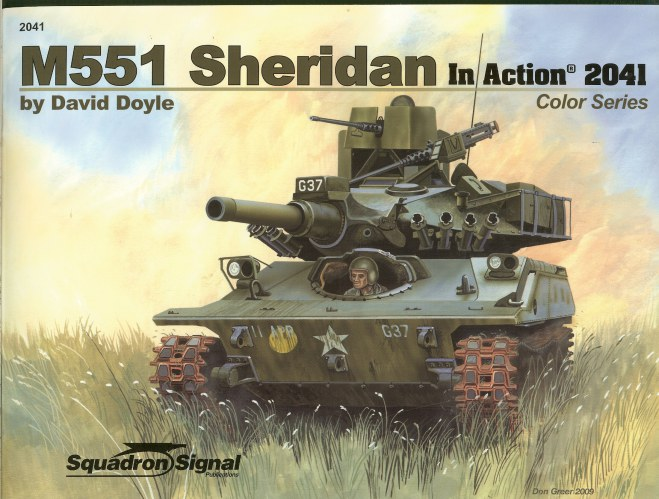 Image for M551 SHERIDAN IN ACTION