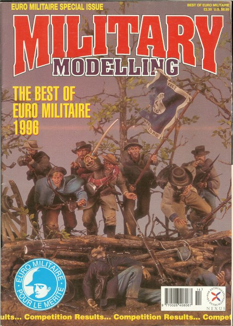 Image for MILITARY MODELLING: THE BEST OF EURO MILITAIRE 1996