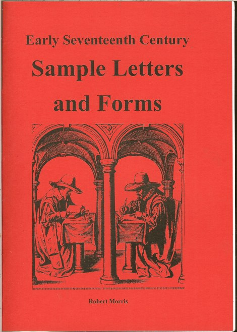 Image for EARLY SEVENTEENTH CENTURY SAMPLE LETTERS AND FORMS