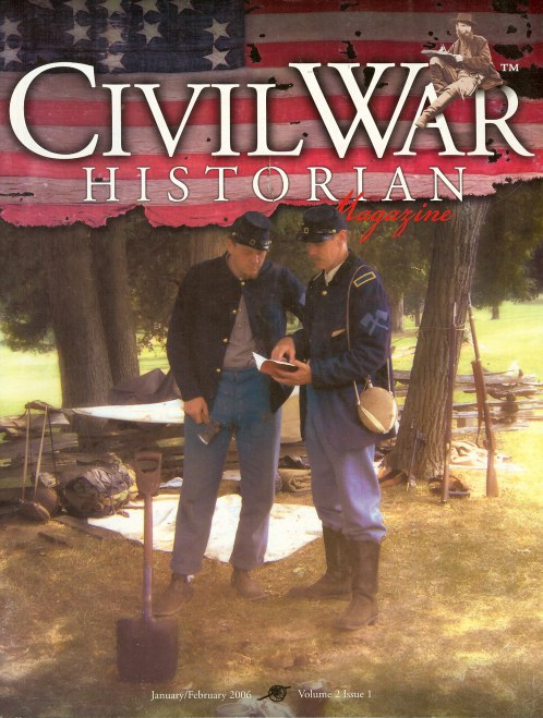 Image for CIVIL WAR HISTORIAN MAGAZINE: BACK ISSUES IN STOCK