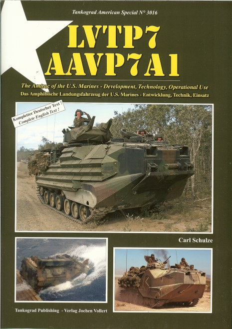 Image for LVTP7 AAVP7A1: THE AMTRAC OF THE US MARINES - DEVELOPMENT, TECHNOLOGY, OPERATIONAL USE