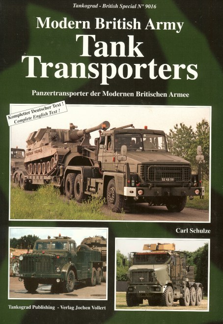 Image for MODERN BRITISH ARMY TANK TRANSPORTERS: 1950 TO THE PRESENT