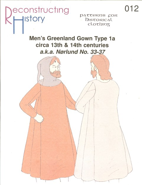 Image for RH012: MEN'S GREENLAND GOWN TYPE 1A: CIRCA 13TH AND 14TH CENTURIES (NORLUND NO.33-37)