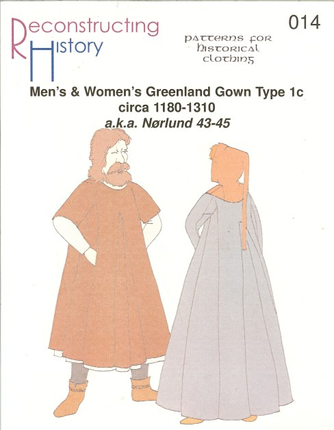 Image for RH014: MEN'S & WOMEN'S GREENLAND GOWN TYPE 1C: CIRCA 1180-1310 (NORLUND NO.43-45)