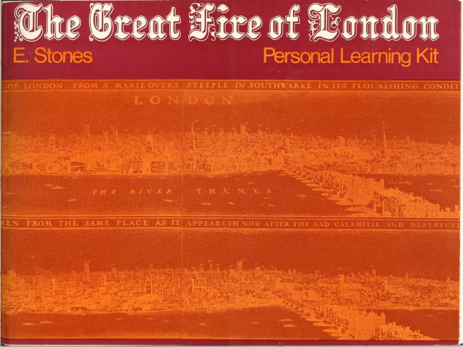 Image for THE GREAT FIRE OF LONDON: PERSONAL LEARNING KIT