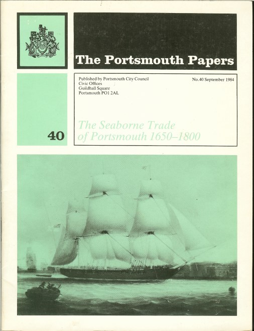 Image for THE SEABORNE TRADE OF PORTSMOUTH 1650-1800