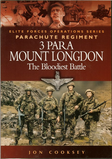 Image for 3 PARA MOUNT LONGDON : THE BLOODIEST BATTLE