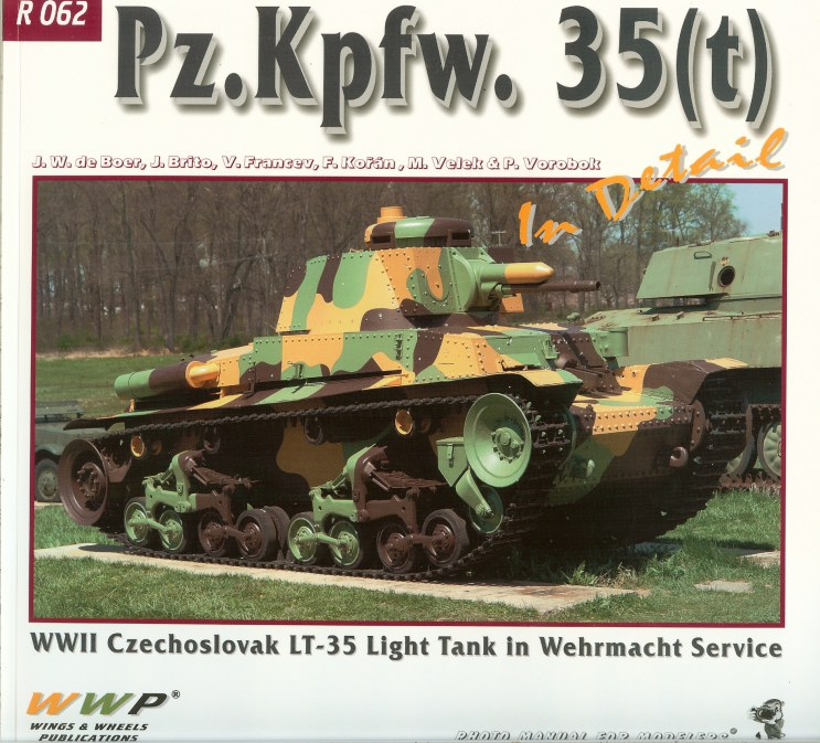 Image for PZ.KPFW. 35 (T) IN DETAIL