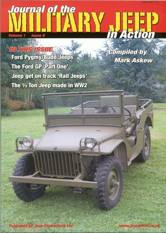 Image for JOURNAL OF THE MILITARY JEEP IN ACTION: VOLUME 1 ISSUE 5