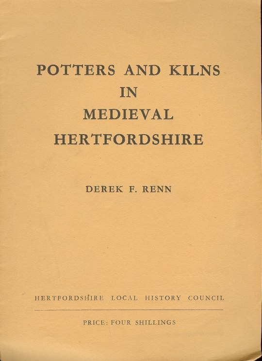 Image for POTTERS AND KILNS IN MEDIEVAL HERTFORDSHIRE