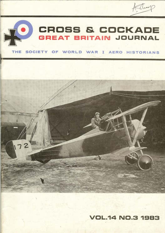 Image for CROSS & COCKADE GREAT BRITAIN JOURNAL: VOLUME 14 NUMBER 3