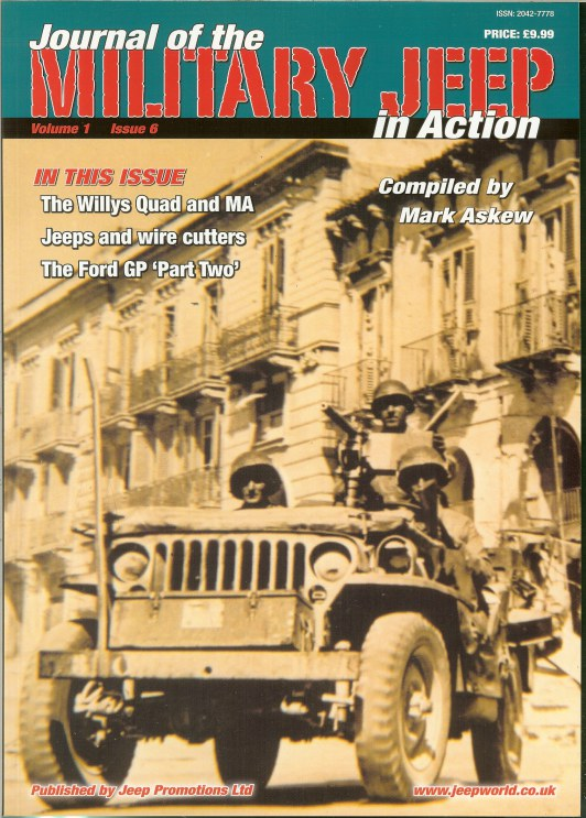 Image for JOURNAL OF THE MILITARY JEEP IN ACTION: VOLUME 1 ISSUE 6