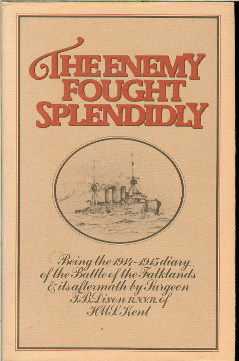 Image for THE ENEMY FOUGHT SPLENDIDLY