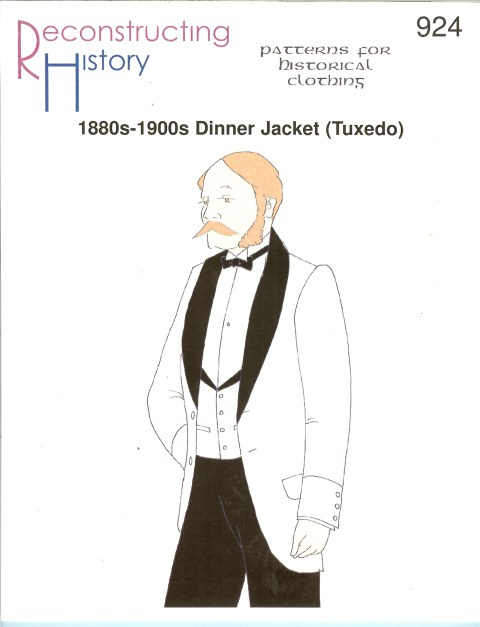 Image for RH924: 1880S-1900S DINNER JACKET (TUXEDO)