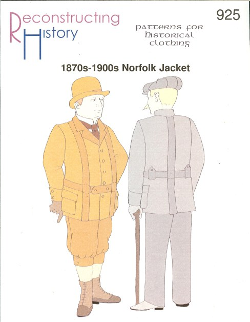 Image for RH925: 1870S-1900S NORFOLK JACKET