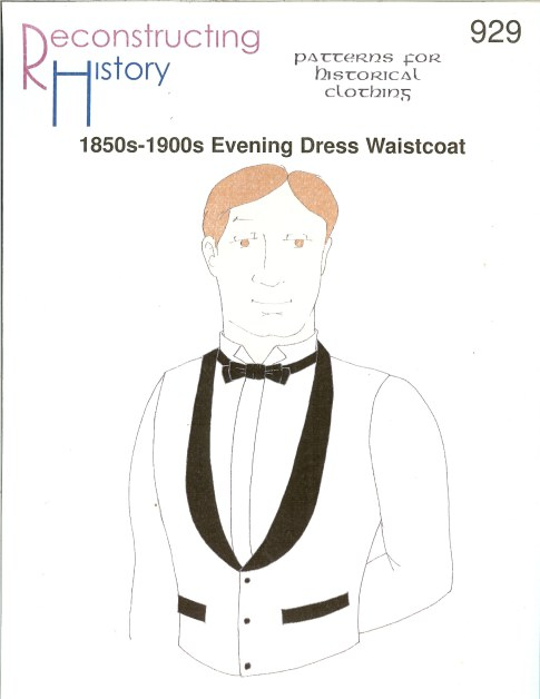 Image for RH929: 1850S-1900S EVENING DRESS WAISTCOAT