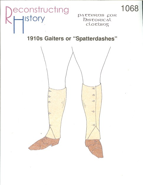 Image for RH1068: 1910S GAITERS OR 'SPATTERDASHES'