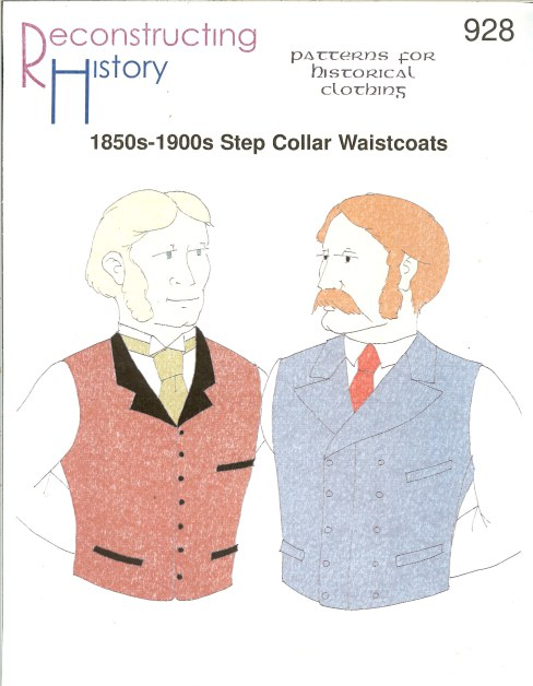 Image for RH928: 1850S-1900S STEP COLLAR WAISTCOATS